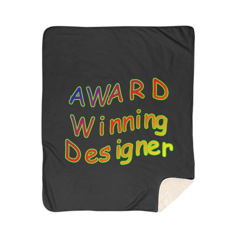 Award Winning Designer Home Blanket by The Incumbent Agency