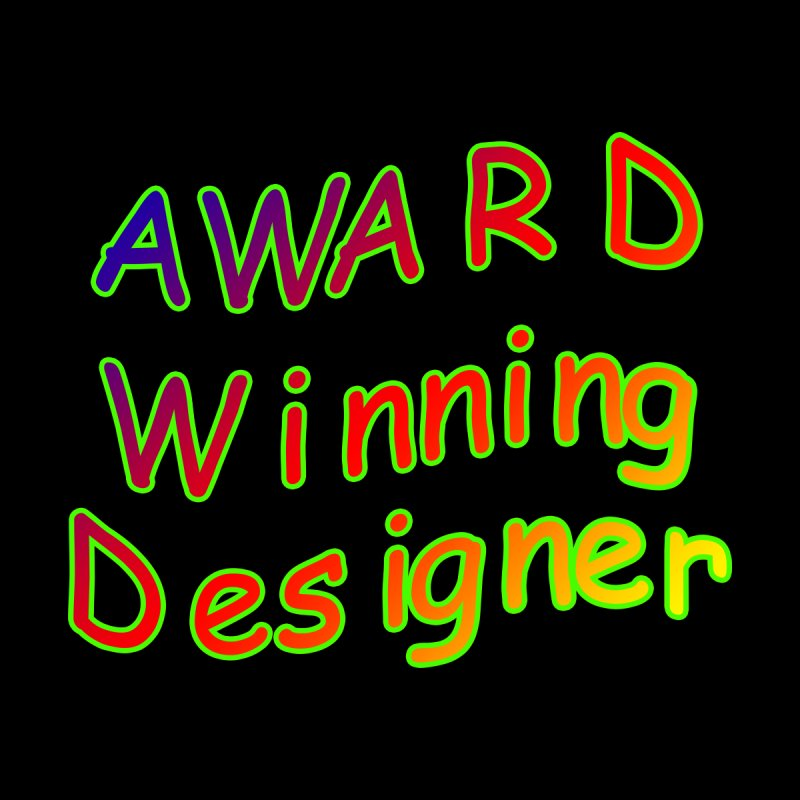 Award Winning Designer Accessories Greeting Card by The Incumbent Agency