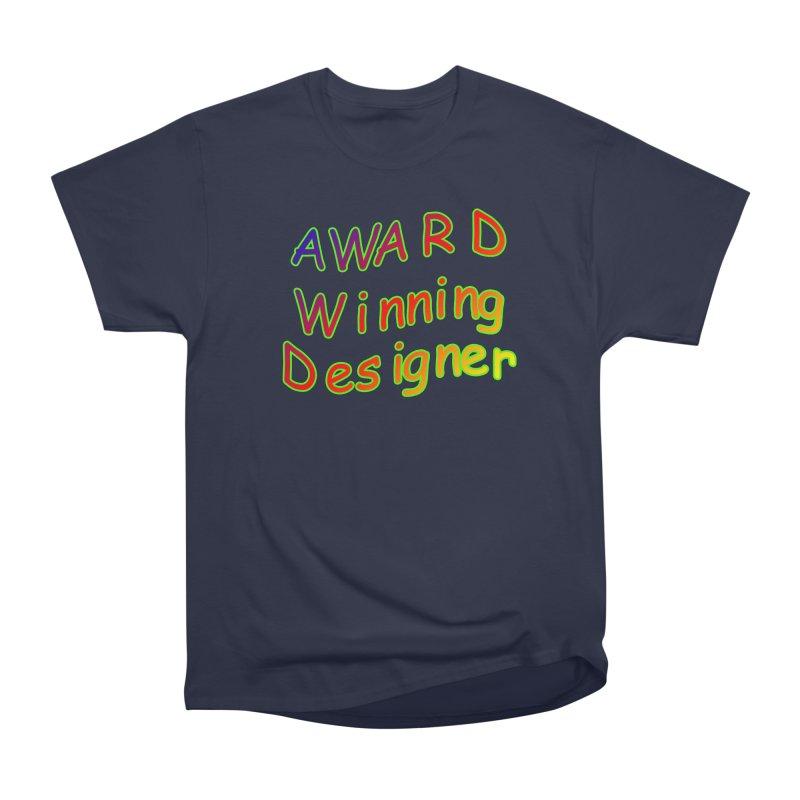 Award Winning Designer Men's Heavyweight T-Shirt by The Incumbent Agency