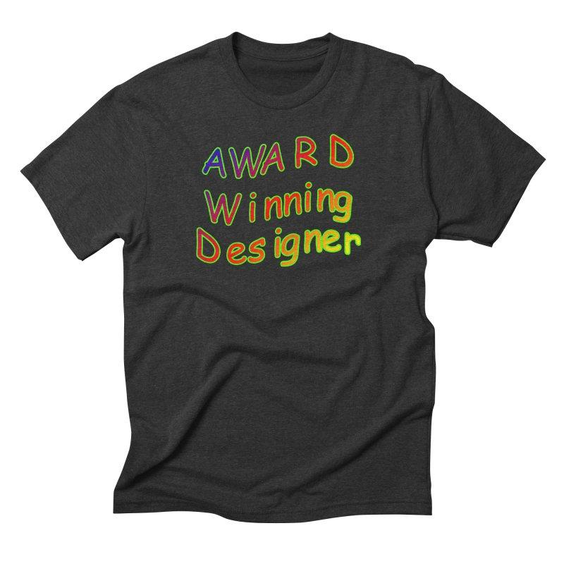 Award Winning Designer Men's T-Shirt by The Incumbent Agency