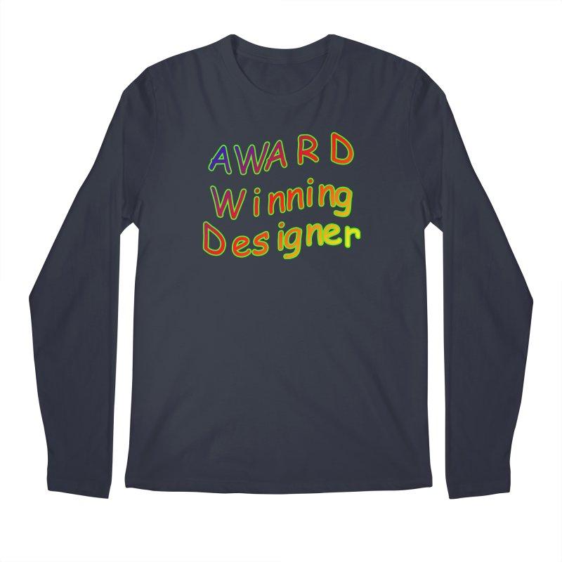 Award Winning Designer Men's Longsleeve T-Shirt by The Incumbent Agency