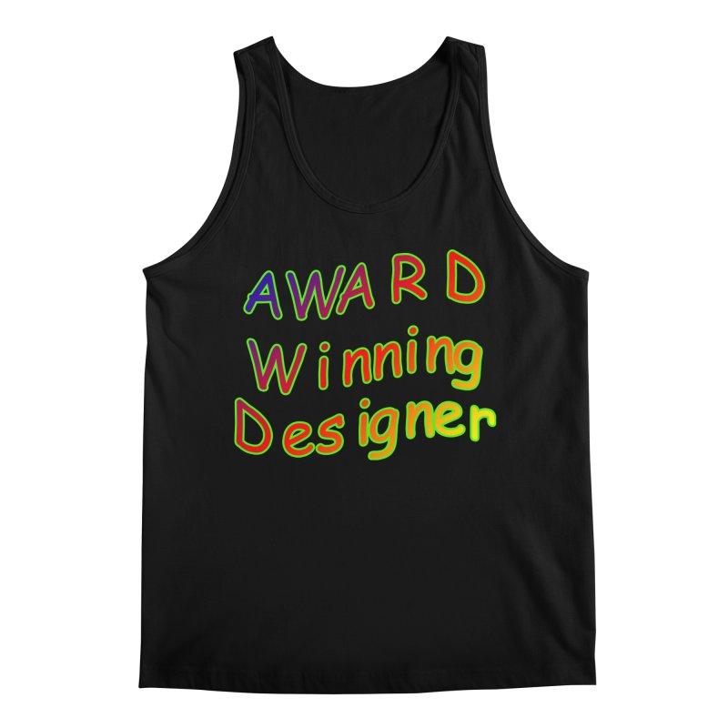 Award Winning Designer Men's Tank by The Incumbent Agency