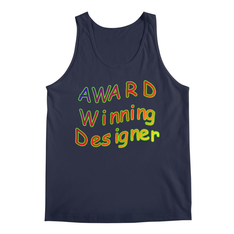 Award Winning Designer Men's Tank by The Incumbent Agency