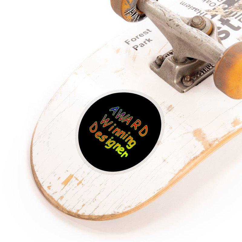 Award Winning Designer Accessories Sticker by The Incumbent Agency