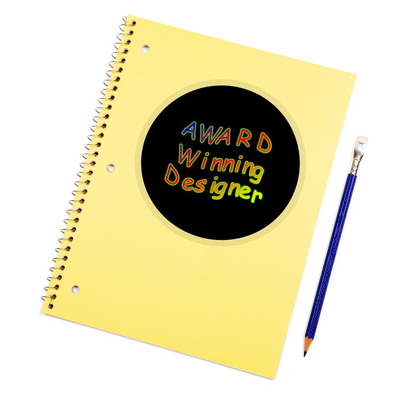 Award Winning Designer Accessories Sticker by The Incumbent Agency