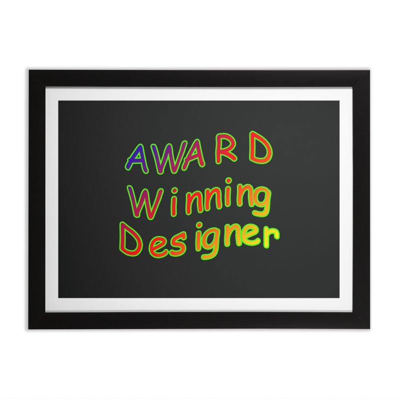 Award Winning Designer Home Framed Fine Art Print by The Incumbent Agency