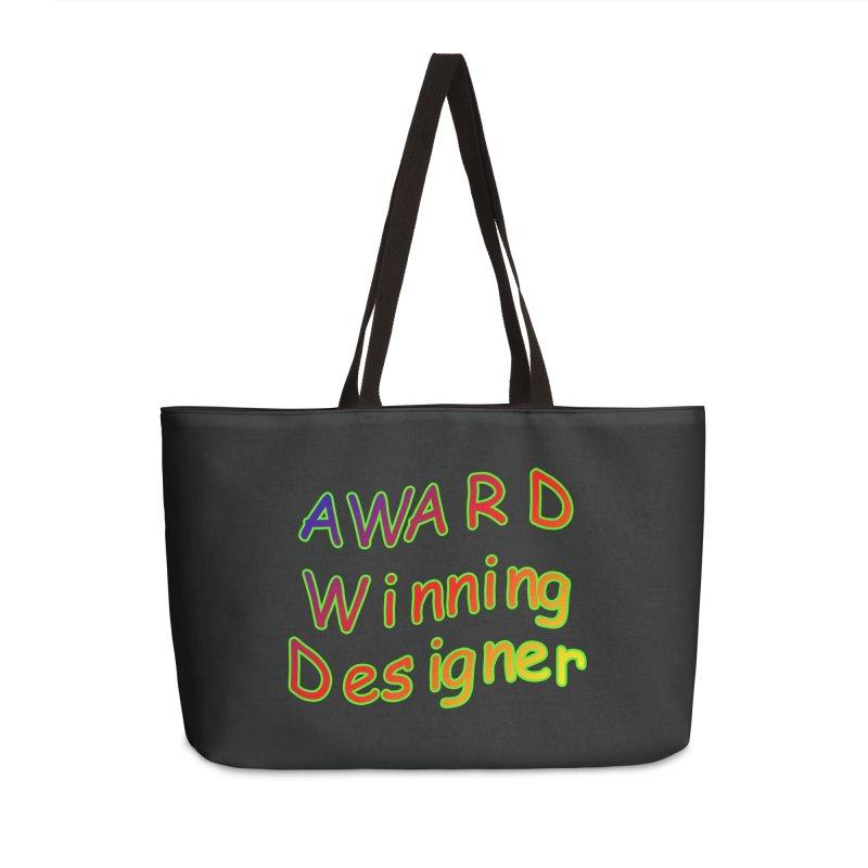 Award Winning Designer Accessories Weekender Bag Bag by The Incumbent Agency