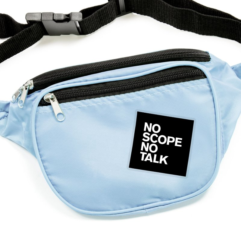 No Scope No Talk Accessories Sticker by The Incumbent Agency