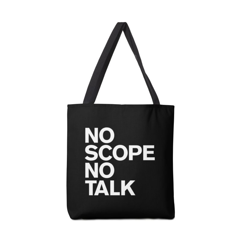 No Scope No Talk Accessories Bag by The Incumbent Agency