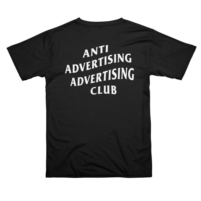 Anti Advertising Advertising Club Men's Cut & Sew by The Incumbent Agency