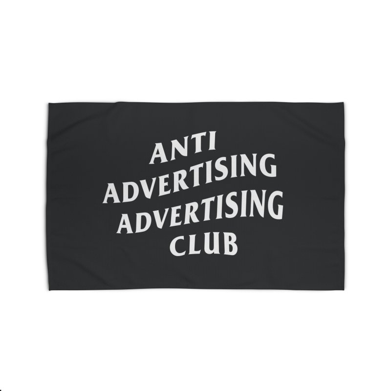Anti Advertising Advertising Club Home Rug by The Incumbent Agency