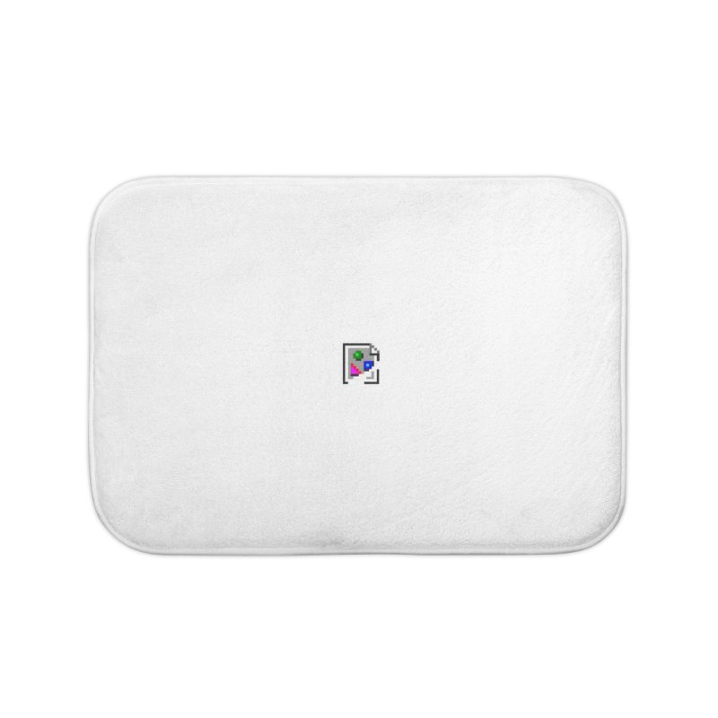 Broken Image Home Bath Mat by The Incumbent Agency