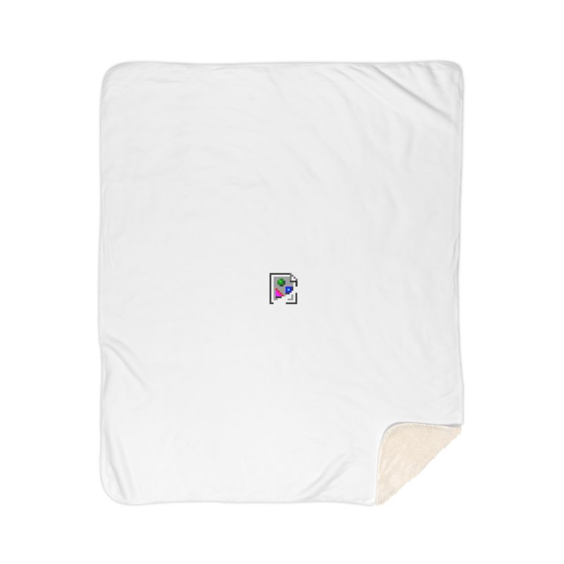 Broken Image Home Blanket by The Incumbent Agency