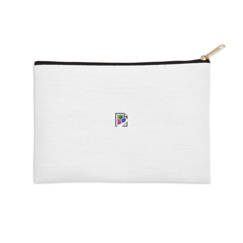 Broken Image Accessories Zip Pouch by The Incumbent Agency