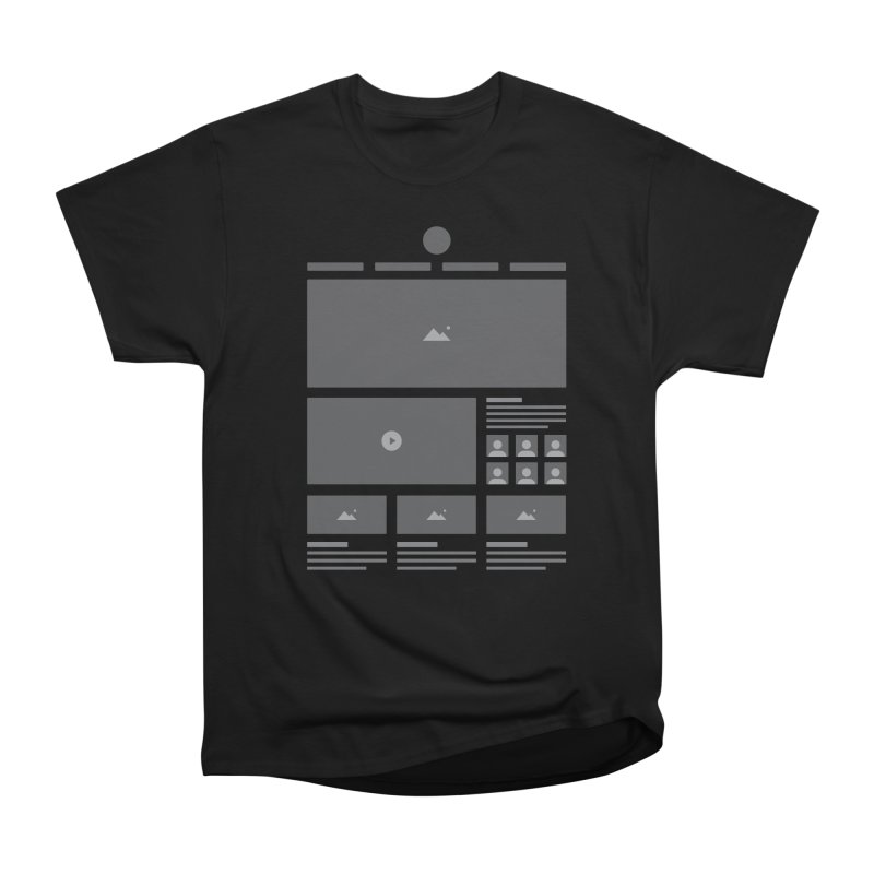 HTeeML Men's Heavyweight T-Shirt by The Incumbent Agency
