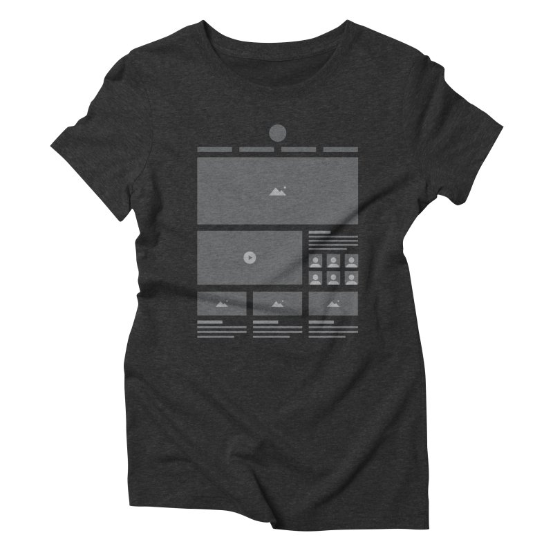 HTeeML Women's Triblend T-Shirt by The Incumbent Agency