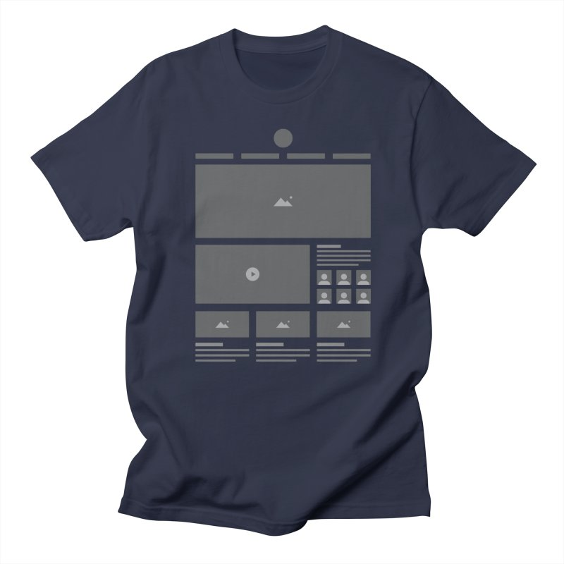HTeeML Men's T-Shirt by The Incumbent Agency
