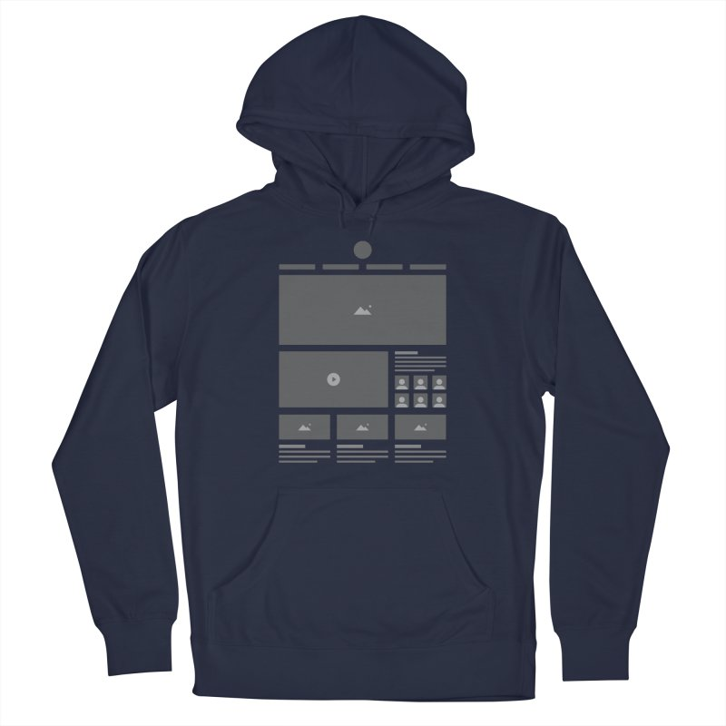HTeeML Men's Pullover Hoody by The Incumbent Agency