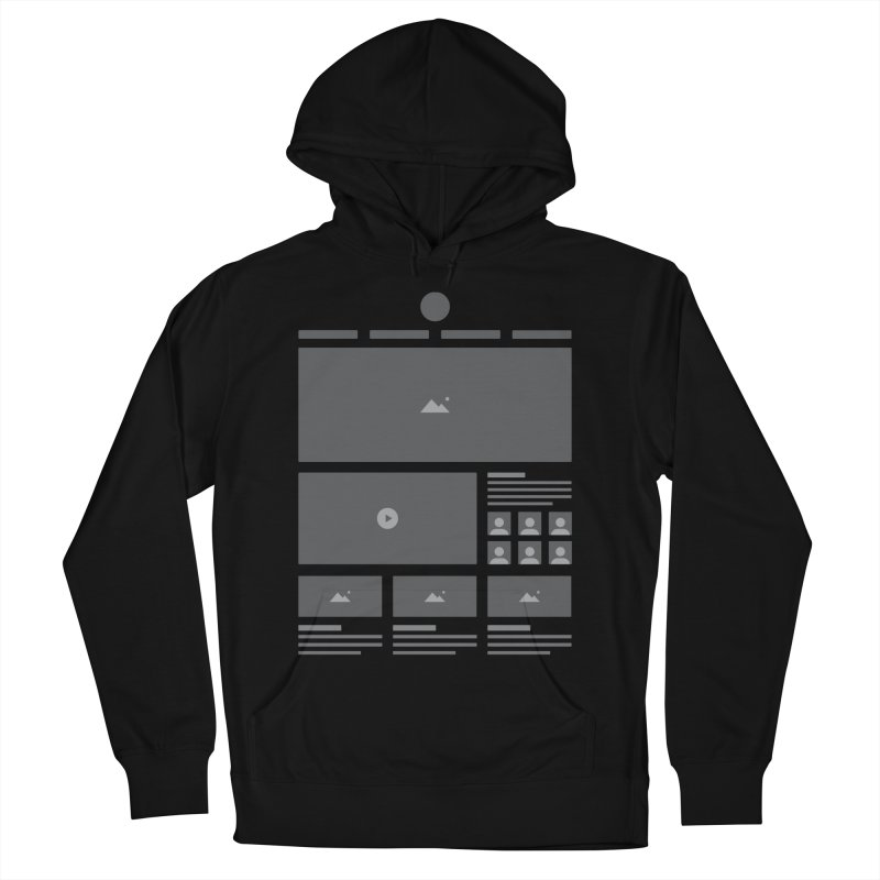 HTeeML Men's French Terry Pullover Hoody by The Incumbent Agency
