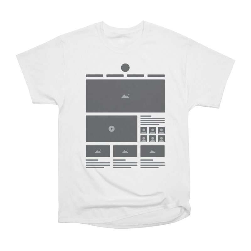 HTeeML Men's Heavyweight T-Shirt by The Incumbent Agency