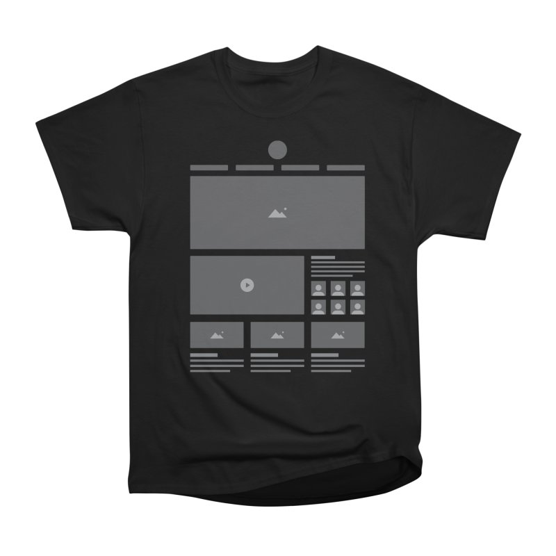Wireframes Men's T-Shirt by The Incumbent Agency
