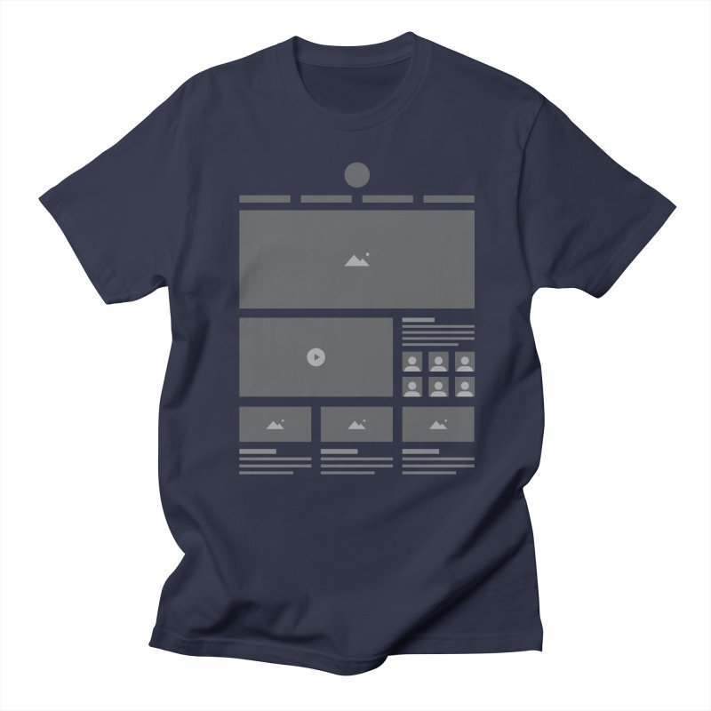 HTeeML Men's Regular T-Shirt by The Incumbent Agency