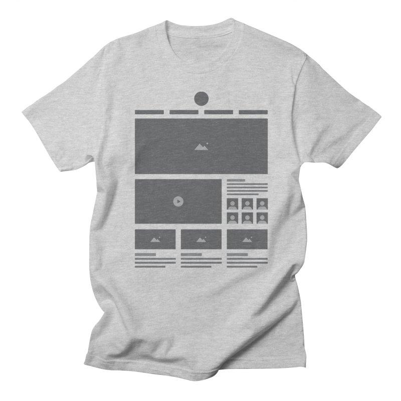 HTeeML Women's Regular Unisex T-Shirt by The Incumbent Agency