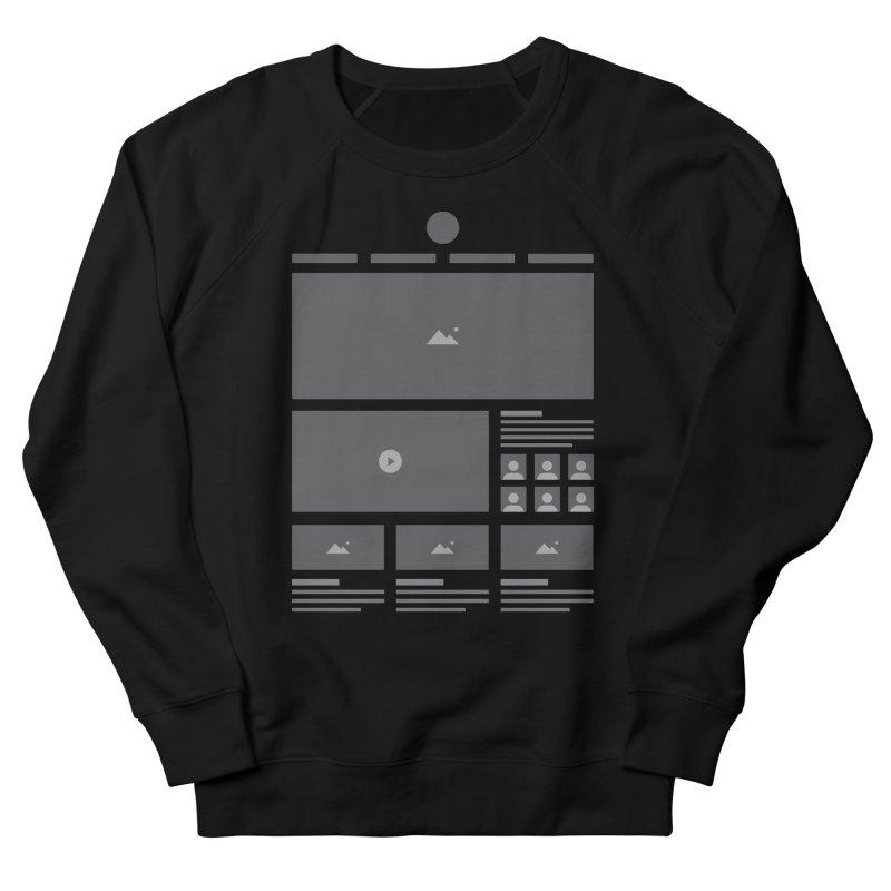 HTeeML Men's French Terry Sweatshirt by The Incumbent Agency