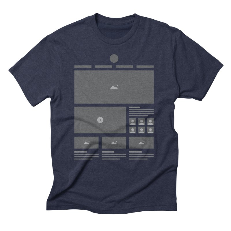 HTeeML Men's Triblend T-Shirt by The Incumbent Agency