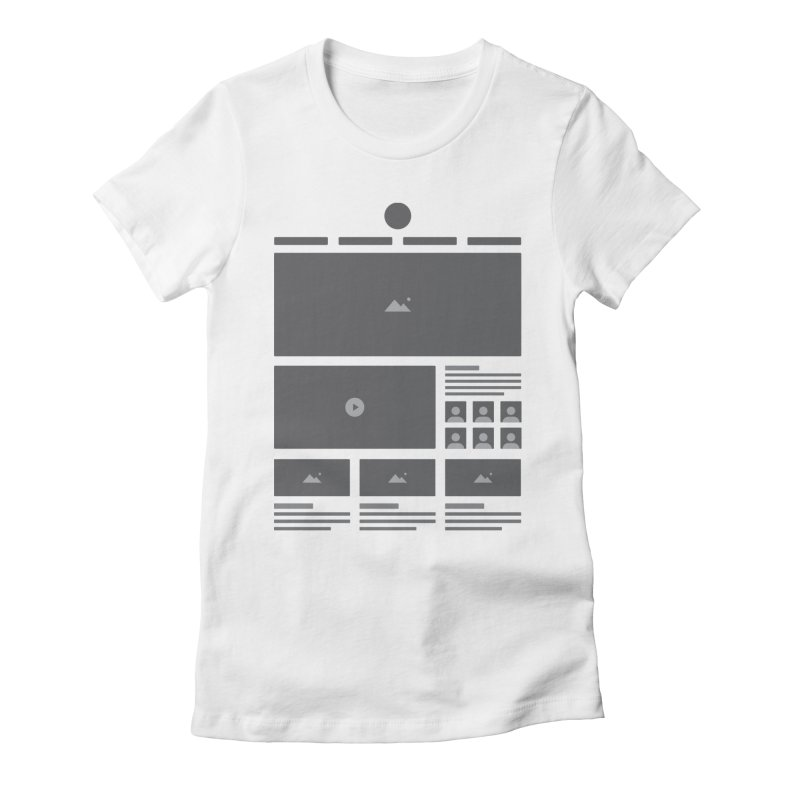 HTeeML Women's Fitted T-Shirt by The Incumbent Agency