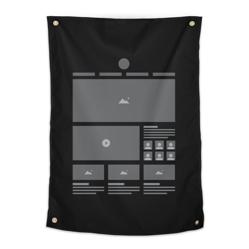 Wireframes Home Tapestry by The Incumbent Agency
