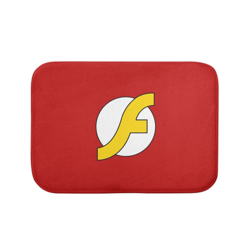 Flash Home Bath Mat by The Incumbent Agency