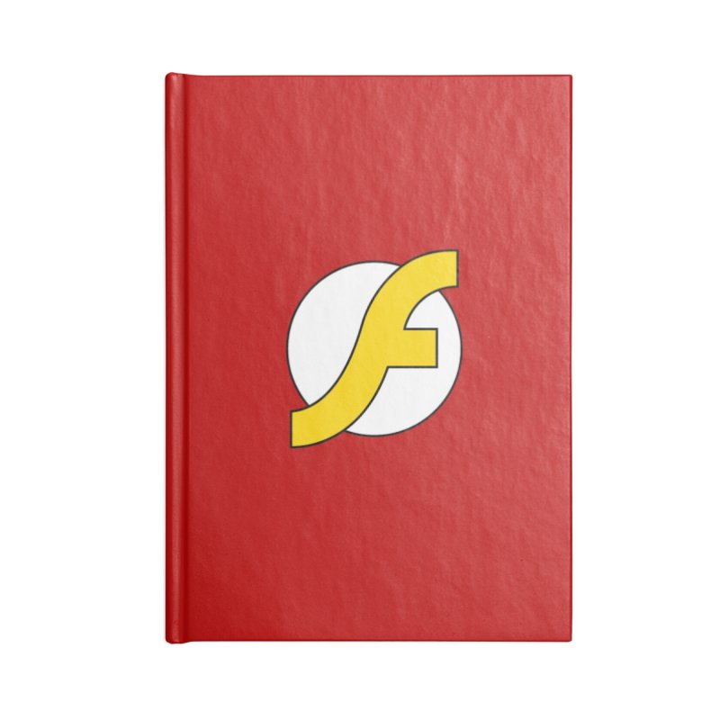 Flash Accessories Lined Journal Notebook by The Incumbent Agency