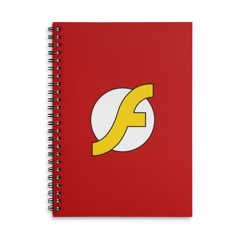 Flash Accessories Lined Spiral Notebook by The Incumbent Agency