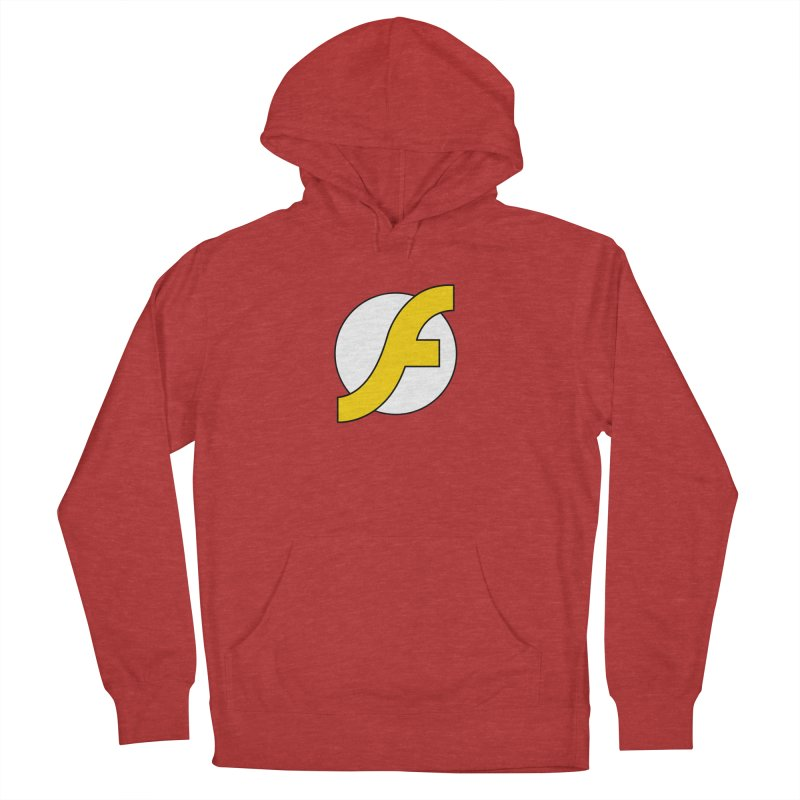 Flash Men's French Terry Pullover Hoody by The Incumbent Agency
