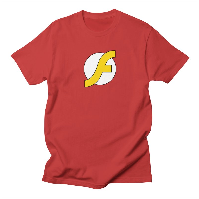 Flash Men's Regular T-Shirt by The Incumbent Agency