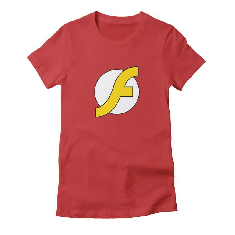 Flash Women's Fitted T-Shirt by The Incumbent Agency