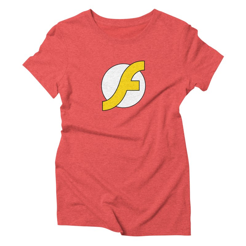 Flash Women's Triblend T-Shirt by The Incumbent Agency
