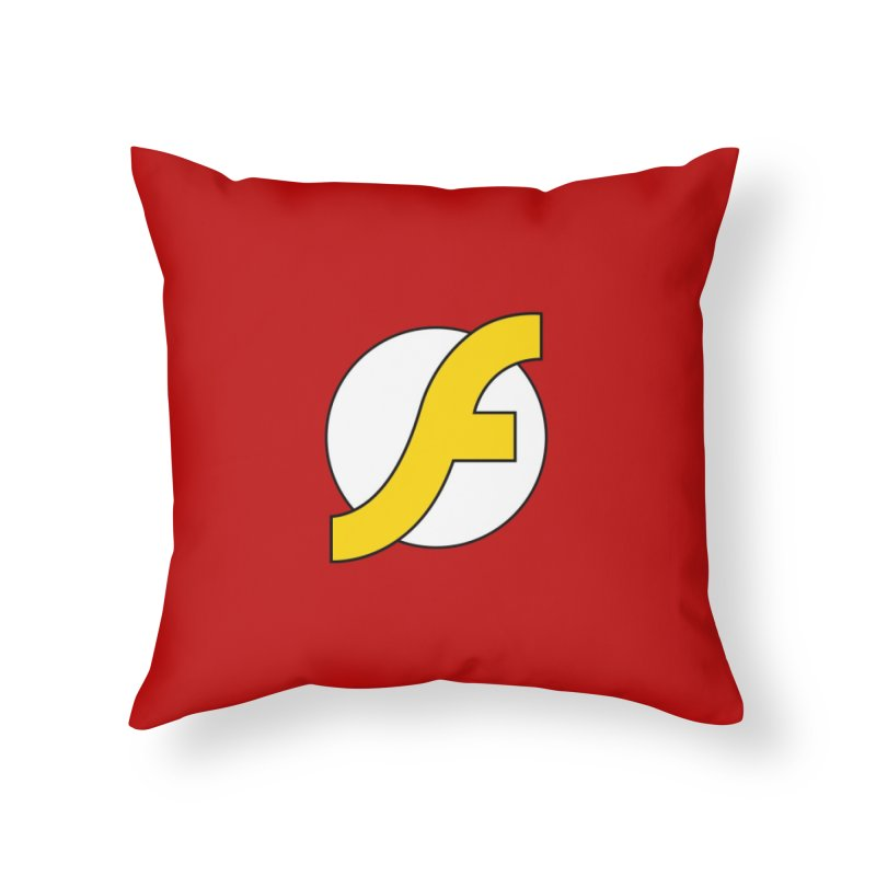 Flash Home Throw Pillow by The Incumbent Agency