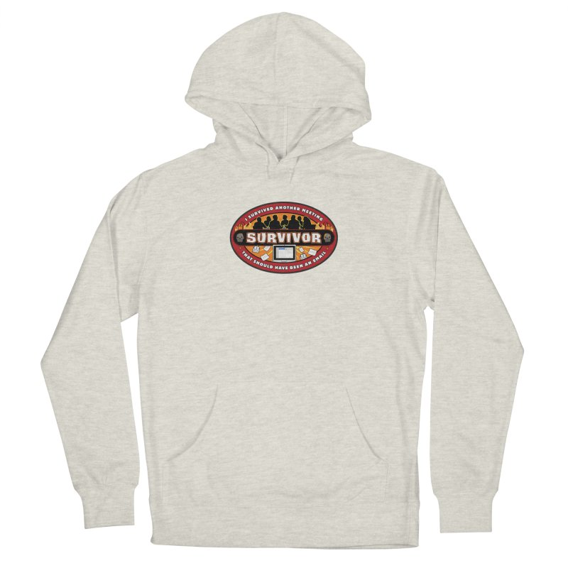 Meeting Survivor Men's Pullover Hoody by The Incumbent Agency