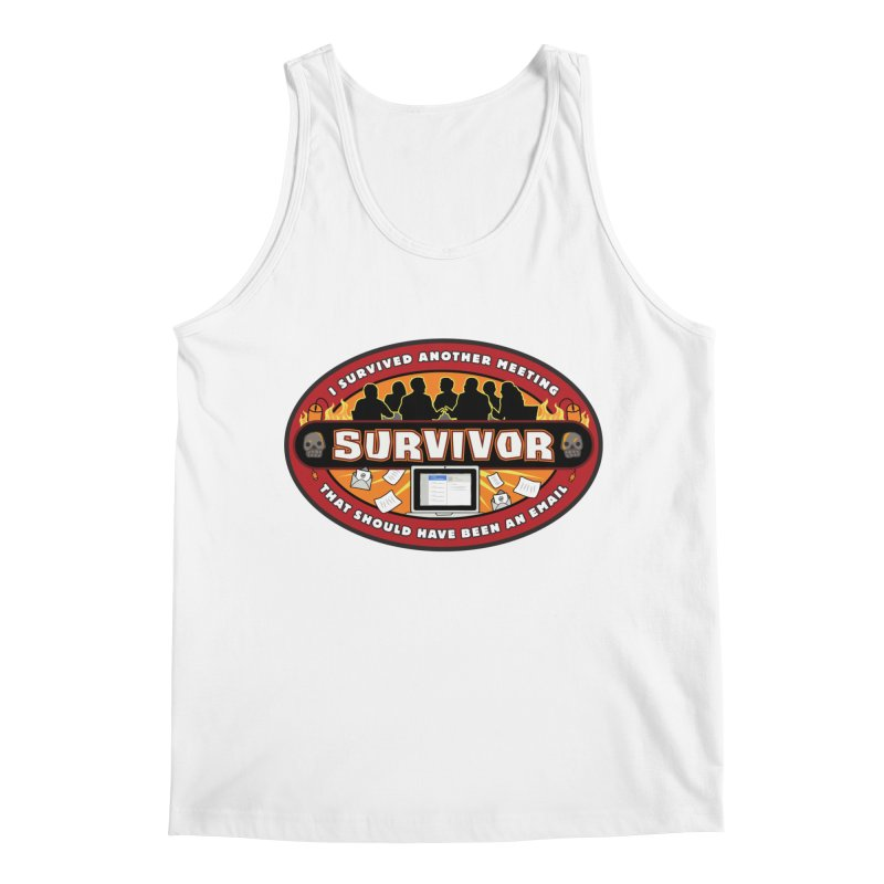 Meeting Survivor Men's Tank by The Incumbent Agency