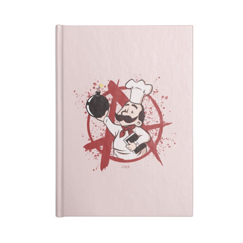 The Anarchist Cookbook Accessories Notebook by theinfamousclam's Shop