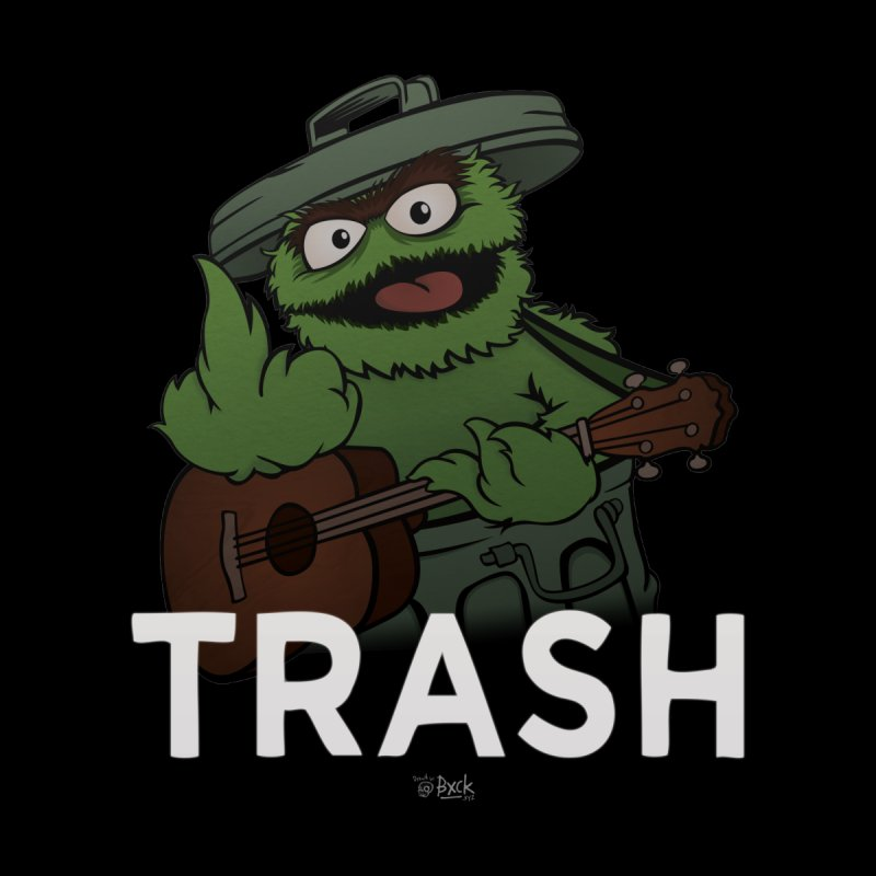 TRASH Men's T-Shirt by theinfamousclam's Shop