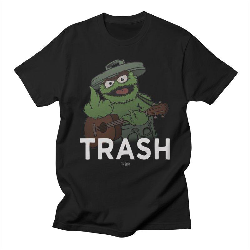 TRASH Men's T-Shirt by theinfamousclam's Shop