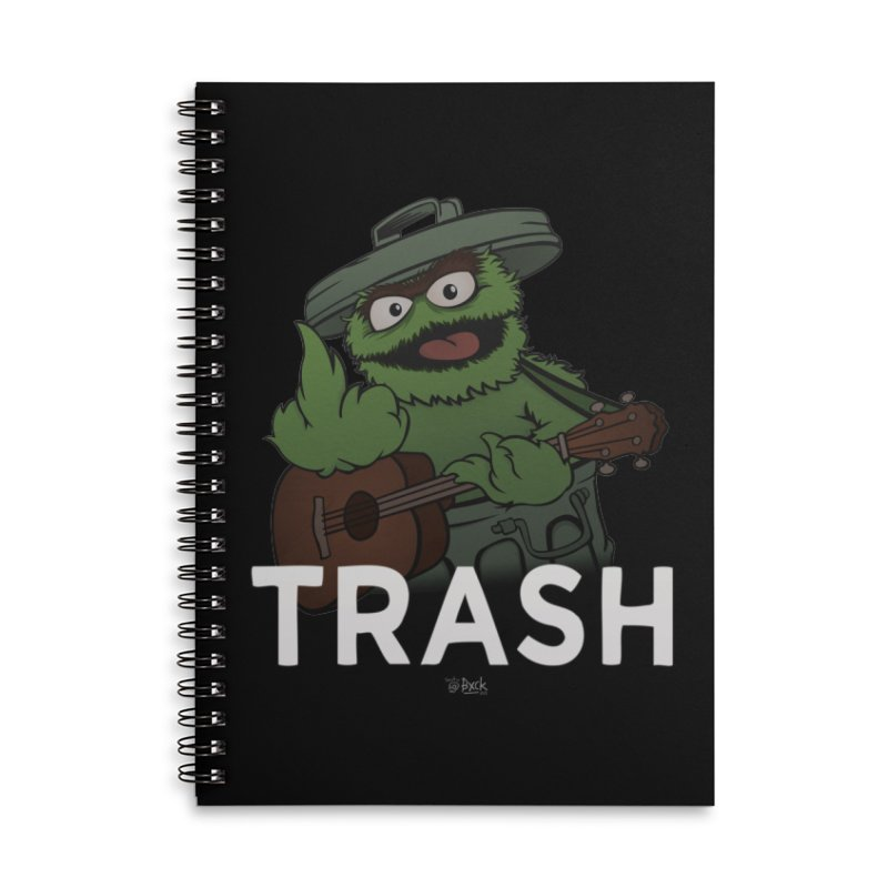 TRASH Accessories Notebook by theinfamousclam's Shop