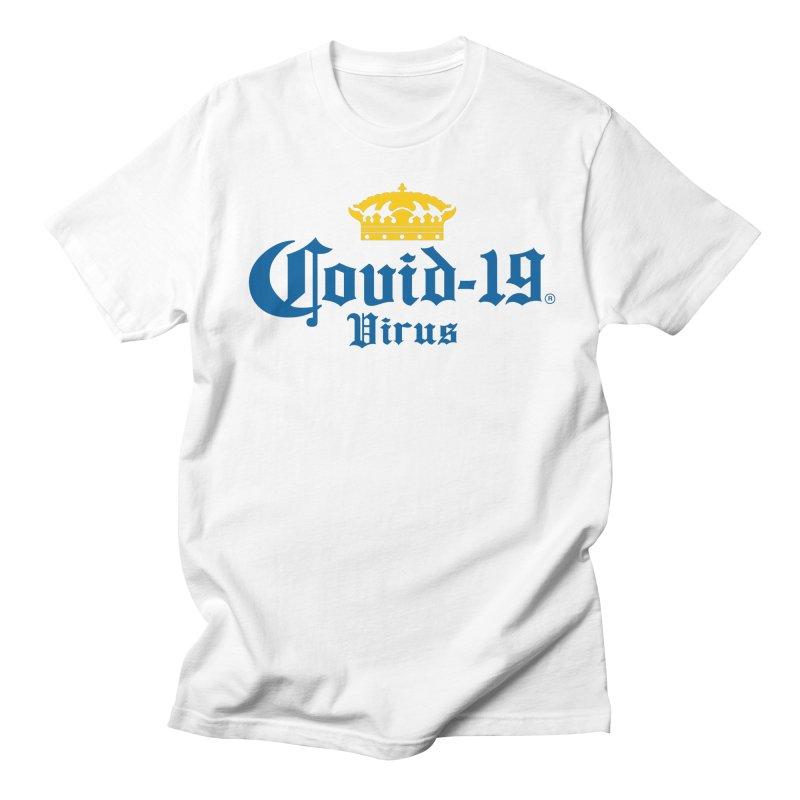 Corona Men's T-Shirt by theinfamousclam's Shop