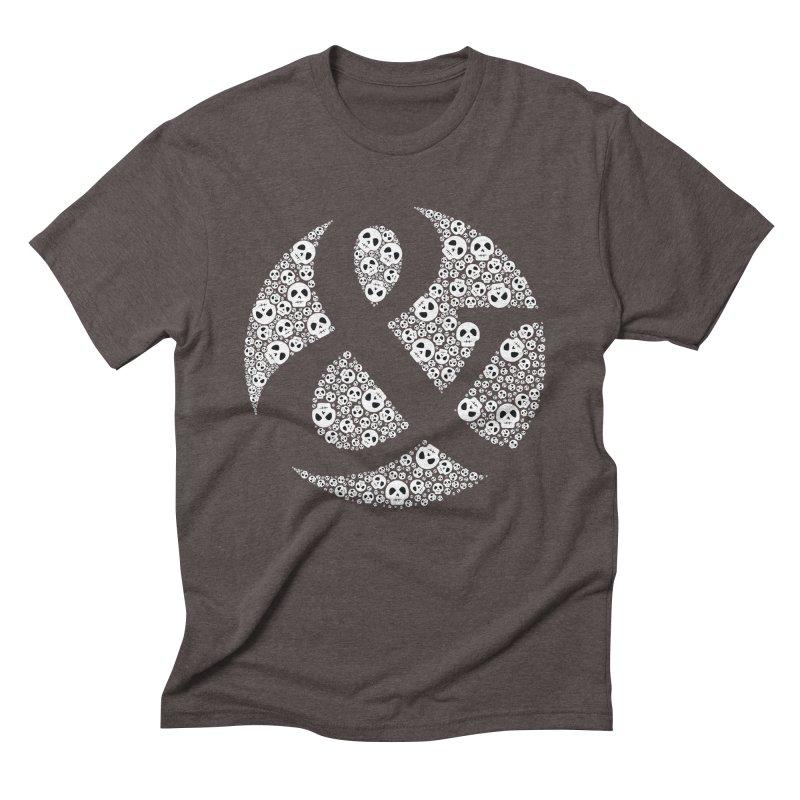 Amperskull Men's Triblend T-shirt by theinkedskull