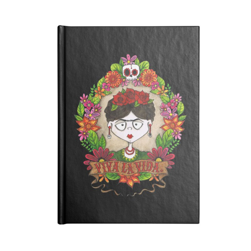 Viva La Vida Accessories Notebook by ink'd