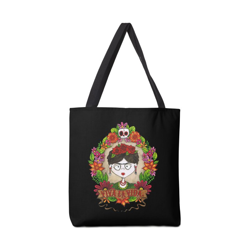 Viva La Vida Accessories Bag by theinkedskull