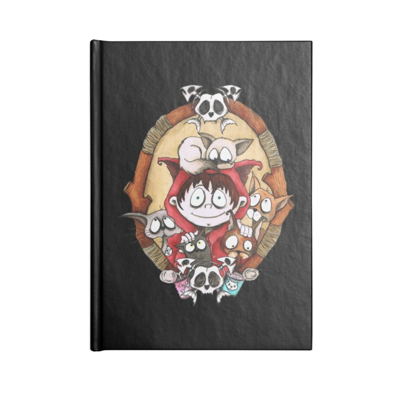 Embrace the Crazy Accessories Notebook by theinkedskull